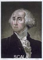 ******** George Washington, first President of the United States of America, (c1820).