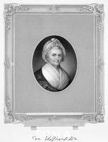 ******** Martha Washington, wife of US President George Washington, (19th century).