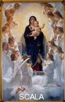 Bouguereau, William Adolphe (1825-1905) La Vierge aux Anges. 1900