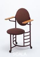 Wright, Frank Lloyd (1867-1959) Office Chair. Design date: 1938