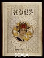 ******** Cover of the libretto for 'Turandot'