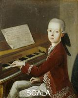******** Portrait of Mozart as a Child at the Piano