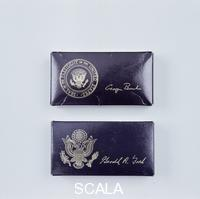 ******** Two boxes of US Presidential golf balls, c1974-c1993.