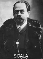 ******** Emile Zola (1840-1902), French writer, 19th century.
