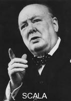 ******** Winston Churchill, British politician, at 75 years old, c1950.