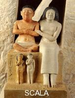 Egyptian art The dwarf Seneb and his family from Giza