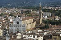 ******** Panorama with the Church of Santa Croce