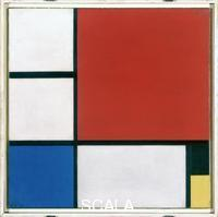 Mondrian, Piet (1872-1944) Composition No.ll with Red, Blue, Black and Yellow, 1929