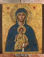 ******** Icon of Our Lady. Anonymous Greek painter, 17th century