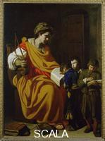 Falcone, Aniello (1600-1666) The teacher at school