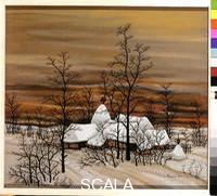 Lackovic, Ivan (1932-) Farm in the Snow