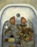 Kahlo, Frida (1907-1954) What the Water Gave Me (Lo que el agua me dio), 1938.