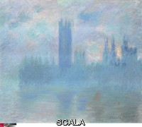 Monet, Claude (1840-1926) Houses of Parliament, London, 1900-1901