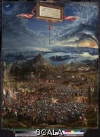 Altdorfer, Albrecht (1480-1538) Alexander's Victory (The Battle of Issus), 1529