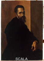 Jacopino del Conte (1515-1598) Portrait of Michelangelo