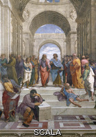 Raphael (1483-1520) School of Athens: central part
