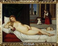 Titian (Vecellio, Tiziano 1488-1576) The Venus of Urbino, 1538