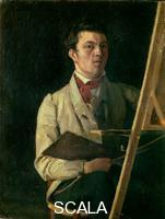 Corot, Jean Baptiste Camille (1796-1875) Self-Portrait at the Easel