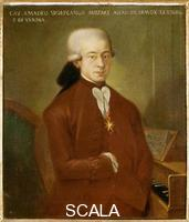 ******** Portrait of Mozart
