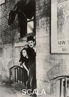 ******** Charlie Chaplin und Paulette Goddard in the movie 'Modern Times', 1935.