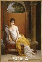 Gerard, Francois (1770-1837) Portrait of Juliette Recamier. Oil on canvas, 225 x 148 cm