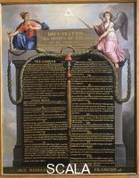 Barbier, Jean-Jacques le (1738-1826) The declaration od the rights of man and citizen August 1789