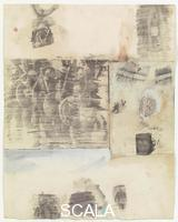 Rauschenberg, Robert (1925-2008) Canto XXI: Circle Eight, Bolgia 5, The Grafters, from the series 'Thirty-Four Illustrations for Dante's Inferno, (1959-60)