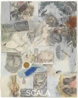 Rauschenberg, Robert (1925-2008) Canto XXX: Circle Eight, Bolgia 10, The Falsifiers: The Evil Impersonators, Counterfeiters, and False Witnesses, from the series 'Thirty-Four Illustrations for Dante's Inferno, (1959-60)