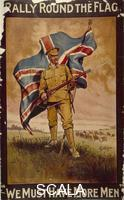 Collett (20th cent.) 'Rally Round the Flag', c. 1914-c. 1918