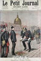 ******** Disgracing of Albert Dreyfus, 1895