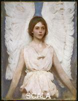 Thayer, Abbott Handerson (1849-1921) Angel, 1889