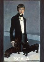 Brooks, Romaine (1874-1970) Una, Lady Troubridge, 1924