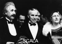 ******** Albert Einstein (1879-1955) with his wife and Charlie Chaplin (1889-1977), 1931.