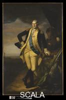 Peale, Charles Willson (1741-1827) George Washington, c. 1779-81